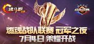 第十届燃魂战队联赛:冠军之夜